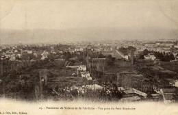 26 Panorama De  VALENCE Et De  L'ARDECHE - Vue Prise Du Petit Séminaire - Valence
