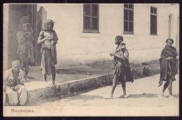 LUANDA / ANGOLA / ÁFRICA Postal Costumes De Angola MONDOMBES Tribo Nómada. Cabinda. Old Postcard - Angola