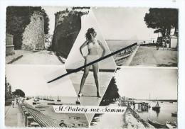 CPM  - Saint St Valéry Sur Somme - Porte Guillaume - La Plage - Quai Blavet - La Somme - Saint Valery Sur Somme