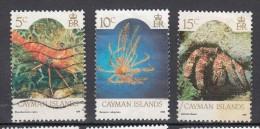 Shell (AN) Kaaiman Eilanden 1986 Mi Nr 572 + 573 + 574 - Kaaiman Eilanden