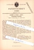 Original Patent  - Schmidt & Römer In Leipzig , 1885 , Zusammenlegbares Puppentheater !!! - Puppen