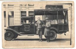 E2620  -  HOLLOGNE - AUX - PIERRES  -  Camion De La Distillerie L. BOUILLON   *carte-photo* - Grâce-Hollogne