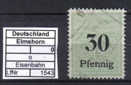 Elmshorn-Barmstedt-Oldesl Oer-Eisenb O - Treni