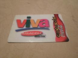 MEXICO  - RARE thematic prepaid phonecard Coca-Cola