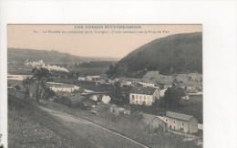 LES VOSGES PITTORESQUES - La Moselle Au Confluent De La Vologne - Train Montant Sur Le Pont De Fer - France