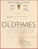 PORTUGAL - ATLETICO CLUBE DE PORTUGAL - CREDENCIAL -  REPRESENTANTE  DO CLUBE - 1949 - Other