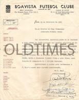 PORTUGAL - BOAVISTA FUTEBOL CLUBE - CREDENCIAL -  REPRESENTANTE  DO CLUBE - 1951 - Other