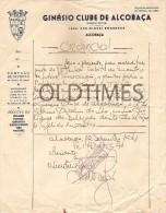 PORTUGAL - GINASIO CLUBE DE ALCOBAÇA - CREDENCIAL -  REPRESENTANTE  DO CLUBE - 1948 - Other