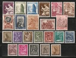 VATICAN  --  Timbres Neufs** - MNH  --  Lot 2 - 2 Séries Complètes + Dépareillés - Vatican