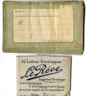 LOT DE 10 ENVELOPPES ANCIENNES  -  BERGERAC  LIBRAIRIE PAPETERIE G DUVERNEUIL - Altre Collezioni