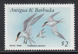 Antigua & Barbuda MNH Scott #1011 $2 Royal Tern - Birds - Antigua Et Barbuda (1981-...)
