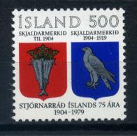 Iceland 1979 Islandia / Coat Of Arms MNH Escudos / Iv01    5 - Timbres