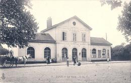 SUCY  En BRIE  La Gare Et Charette - Timbrée TTB - Sucy En Brie