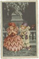 """Illustratore Bertiglia, """" Pierrot Amanti"""" - 1900-1949"""