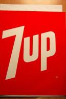Vintage 1970's Soda  7UP Decal Sticker - Autocollants