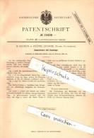 Original Patent - B. Sauron  à Chatel-Censoir , Yonne , 1882 , Élagage Des Arbres Vit Avec Des Ciseaux !!! - France