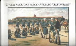 "CALENDARIO MILITARE 21° BATTAGLIONE ""ALFONSINE"" - Calendari"