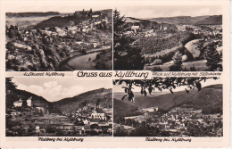 AK Gruss Aus Kyllburg - Mehrbildkarte - 1952 (10239) - Bitburg