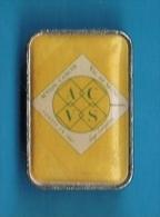 PIN'S //  . A.C.V.S. ACTION CANCER VAL DE SEINE 1987