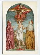 CHRISTIANITY  - AK 211808 Firenze - Santuario Della SS. Annunziata - Andrea Del Castagno - Trinità Con S. Gerolamo Fra . - Eglises Et Couvents