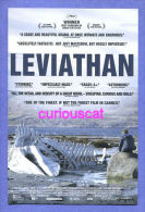 POSTCARD Size FILM CINEMA POSTER ADVERTISEMENT CARD For MOVIE Film  LEVIATHAN - Afiches En Tarjetas