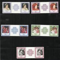 Kiribati 1986 60th Anniversary Queen Elizabeth II Gatter Pair MNH - Kiribati (1979-...)