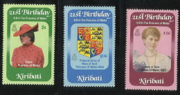 Kiribati  1982  21st Birthday Princess Of Wales MNH - Kiribati (1979-...)