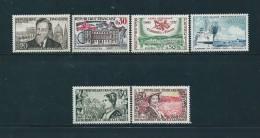 France Timbres De 1960 N°1242 A 1247 Neufs ** Sans Charnières - France