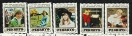 Penrhyn 1982  21st Birthday Princess Of Wales MNH - Penrhyn