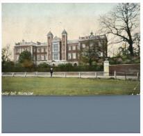 (600) Very Old Postcard - Carte Ancienne - UK - Kneller Hall, Hounslow (London) - London