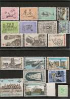 BELGIQUE Années 1966/68 Lot Tous**