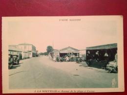 11 Aude PORT LA NOUVELLE Automobile Avenue De La Plage Et Casino (bleue) - Port La Nouvelle