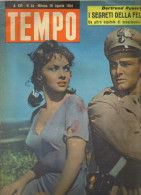 "Revue Ancienne 1954 ""Tempo"" N° 34 - Cinéma"