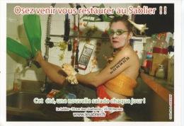 Rennes : Le Sablier 2006 Café Concert - Osez Venir Vous Restaurer Au Sablier (humour Pub) - Rennes