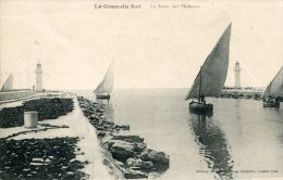 N°41762 -cpa  Le Grau Du Roi -la Sortie Des Pêcheurs- - Pêche