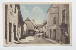 Senergues Aveyron Rue Principale Combier Cachet B4 De Senergues Au Verso 1939 TB - France