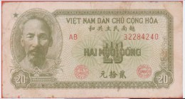 VIET NAM - 20 Dong - De 1951 - Pick 60b - Vietnam
