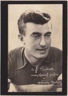 Cyclisme - Louison Bobet, à St-Raphael Mon Apéritif Préféré - Cachet De Sa Chemiserie à Lavallois ! - Cycling