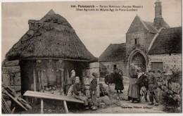 Penmarch   Ferme Bretonne  Dime Agricole Du Moyen Age  De Portz  Lamberts