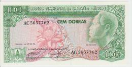 Sao Tome And Principe 100 Dobras 1977 Pick 53 UNC - Sao Tomé Et Principe