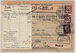DR, 1930,  80 Pfg. Etc. Ausland-Paketkarte, Mi. 50.-€ , S825 - Deutschland