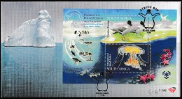 ANTARCTIC, SOUTH AFRICA,off.  FDC:  IGY-Bloc, 2.3.2009 Struis Bay , Look Scan !!  3.12-97 - Antarctische Expedities