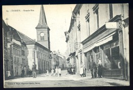 Cpa Du 88 Darney  Grande Rue     PZ9 - Darney