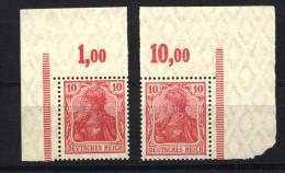 D.R.86 II,2 Eckränder P,xx (4210) - Deutschland