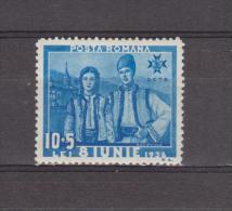 1936 - Costumes Provinciaux  Mi No 515 Et Yv No 504 MH - Ungebraucht