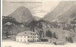 Hte Savoie : Chamonix, Environs, L'Hotel Du Buet Vu Des Montets - Chamonix-Mont-Blanc