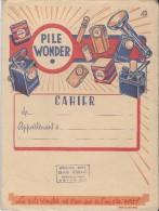 Protége Cahier/ Wonder/ Pile électrique/Damville/Eure/Efgé/Valenciennes/ Vers 1945      CAH50 - Electricidad & Gas