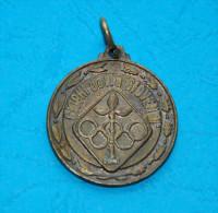 Medaglia GHIOCHI DELLA GIOVENTU 1975 - C.O.N.I. (Comitato Olimpico Nazionale Italiano) 3 Cm. Diameter - Altri