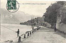Hte Savoie : Annecy, Le Lac, La Puya Et Route  D'Alberville - Annecy