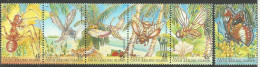 COCOS (KEELING) ISLANDS - 1995 Insects Set Of 6 MNH **  SG 326-31  Sc 302-3 - Cocos (Keeling) Islands